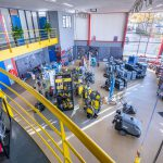 showroom teunis industrietechniek bovenaf