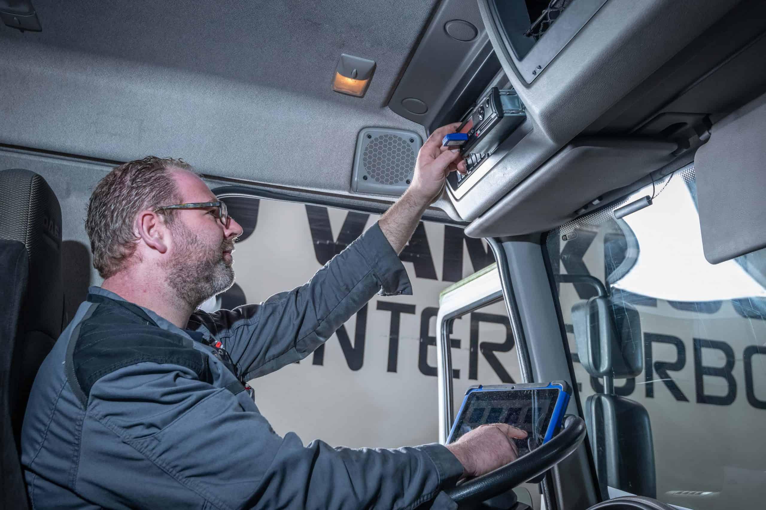 tachograaf service medewerker teunis